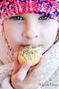ciasteczka cytrynowe z makiem
