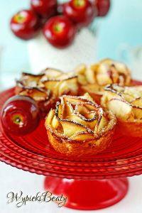 babeczki z jabłkiem