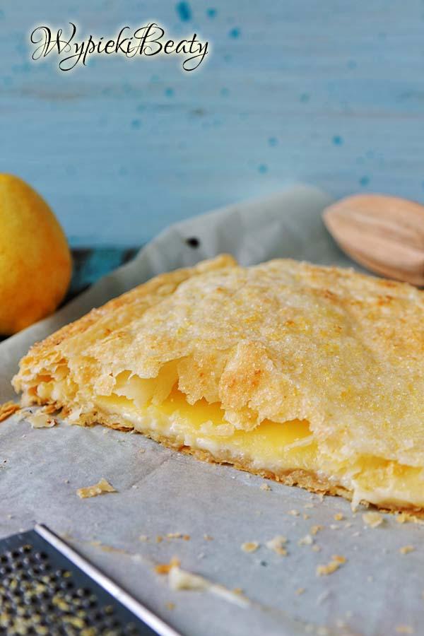 cytrynowe ciastka francuskie 1