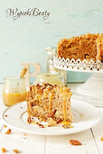 ciasto jabłkowe z toffee