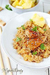 kurczak z ananasowym ryżem 1