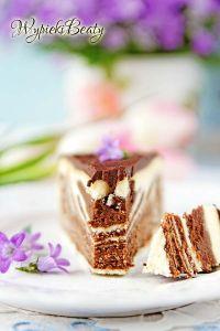 sernik z czekoladą