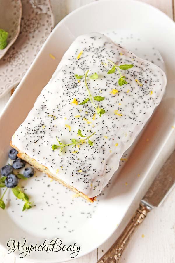 ciasto cytrynowe z makiem 3