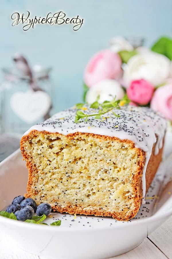 ciasto cytrynowe z makiem