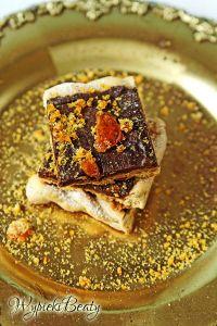 mazurek czekoladowo-karmelowy