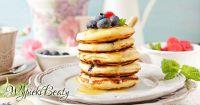 pancakes z borówkami facebook