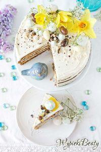 tort z ananasem