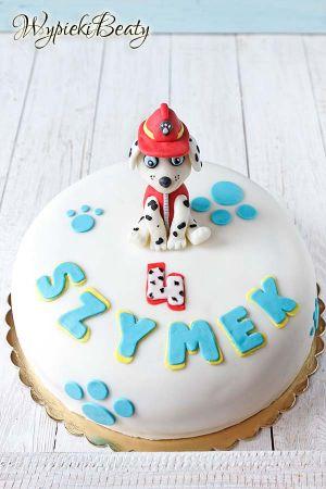 tort urodzinowy psi patrol