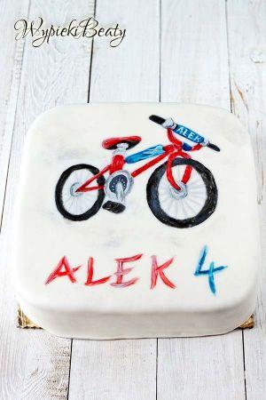 tort z rowerem 2