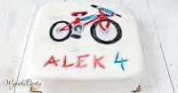 tort z rowerem facebook