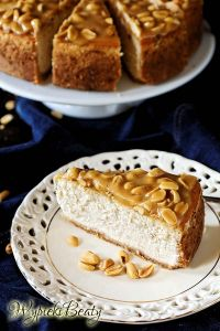 peanut cheesecake