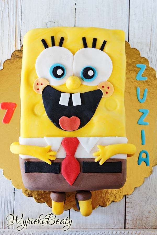 sponge bob cake