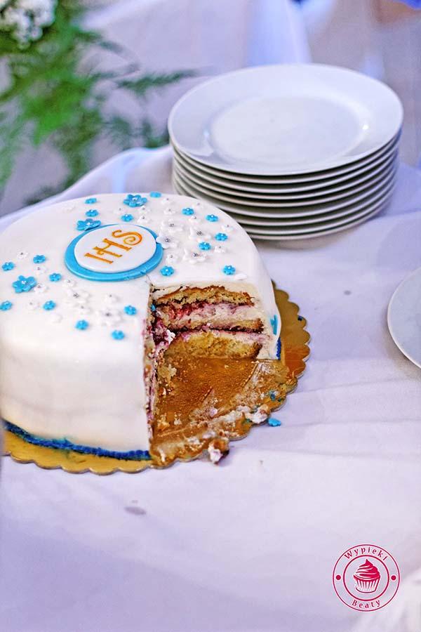 cytrynowy tort komunijny 9