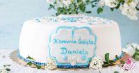 cytrynowy tort komunijny facebook
