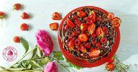 dietetyczne ciasto czekoladowe z owocami facebook