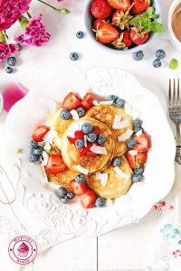 kokosowe pancaksy