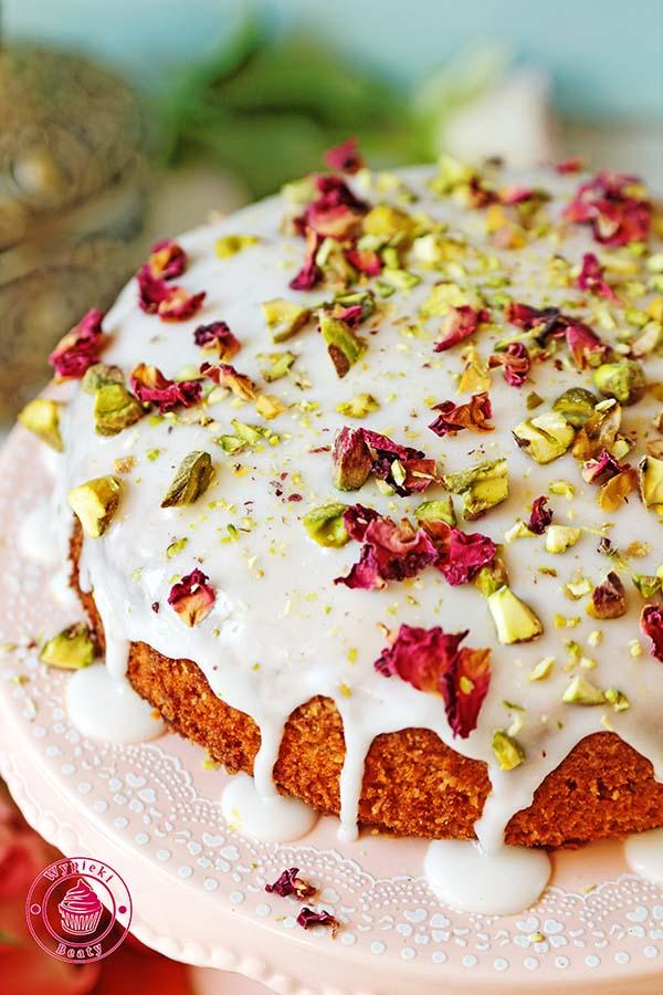 ciasto z wodą różaną