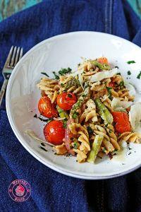 pasta ze szparagami