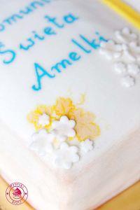 tort na komunię świętą