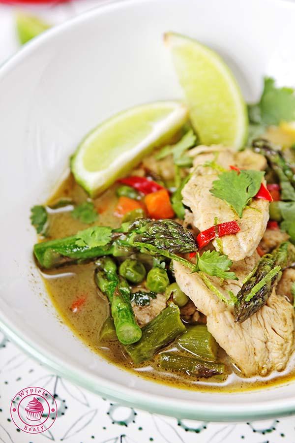 zielone curry ze szparagami 4