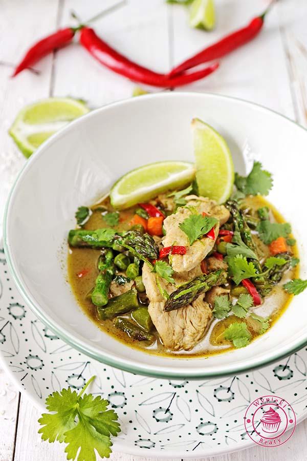zielone curry ze szparagami 5
