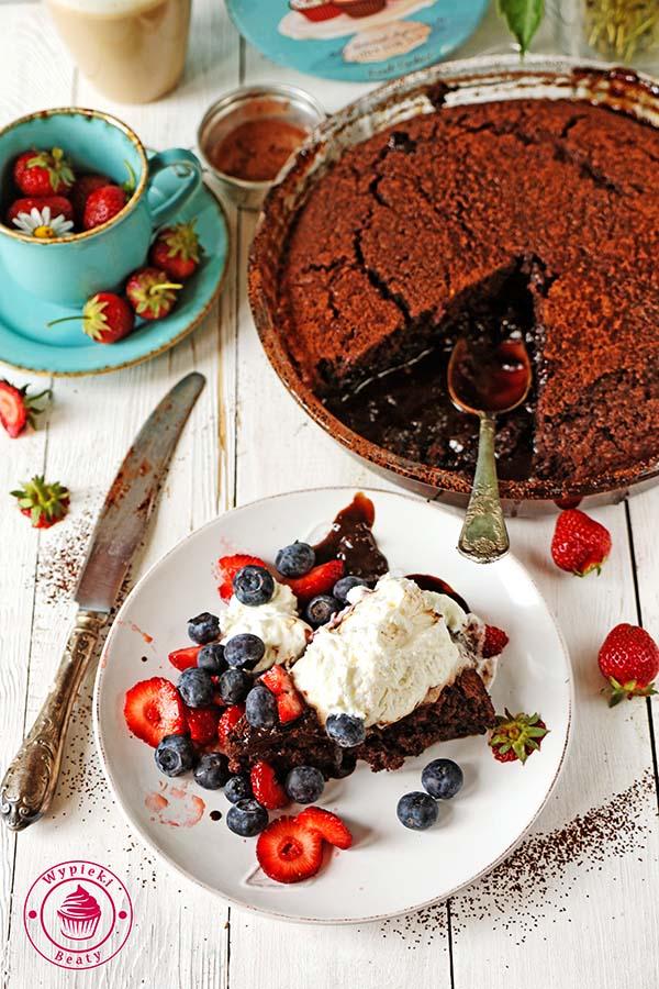 ciasto czekoladowe z sosem 7