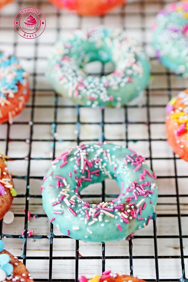 maślankowe donuty 8