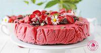 truskawkowy tort mrożony facebook