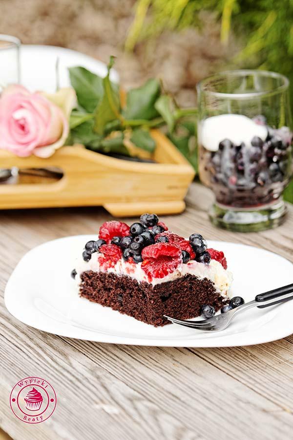 czekoladowe ciasto bez jajek 7