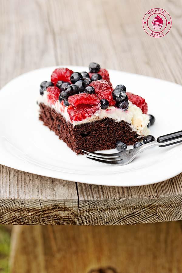 czekoladowe ciasto bez jajek 9