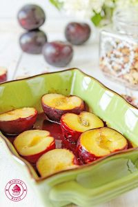deser z owocami