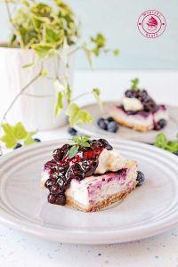 bluberry cheesecake