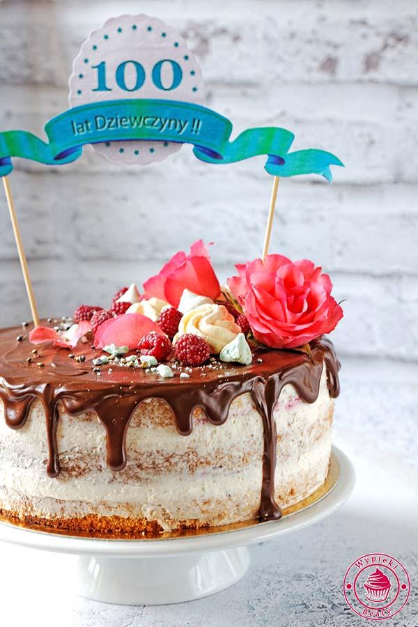 tort z kremem