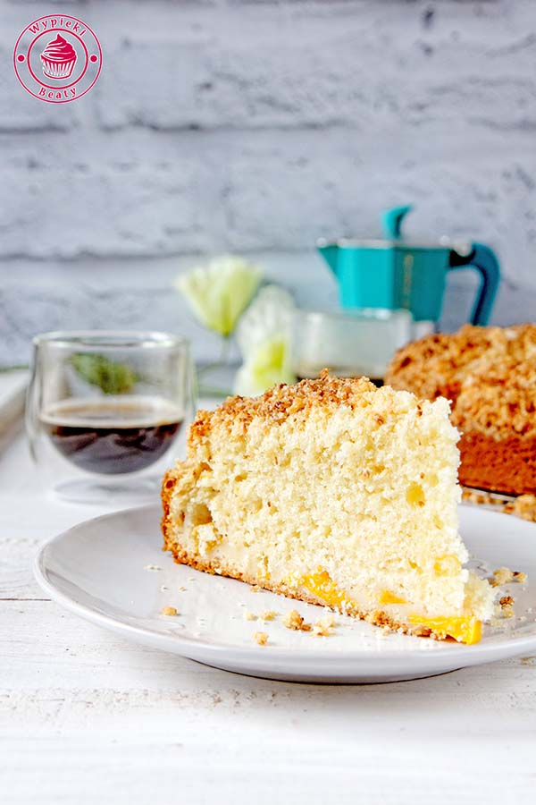 ciasto z kokosową kruszonką