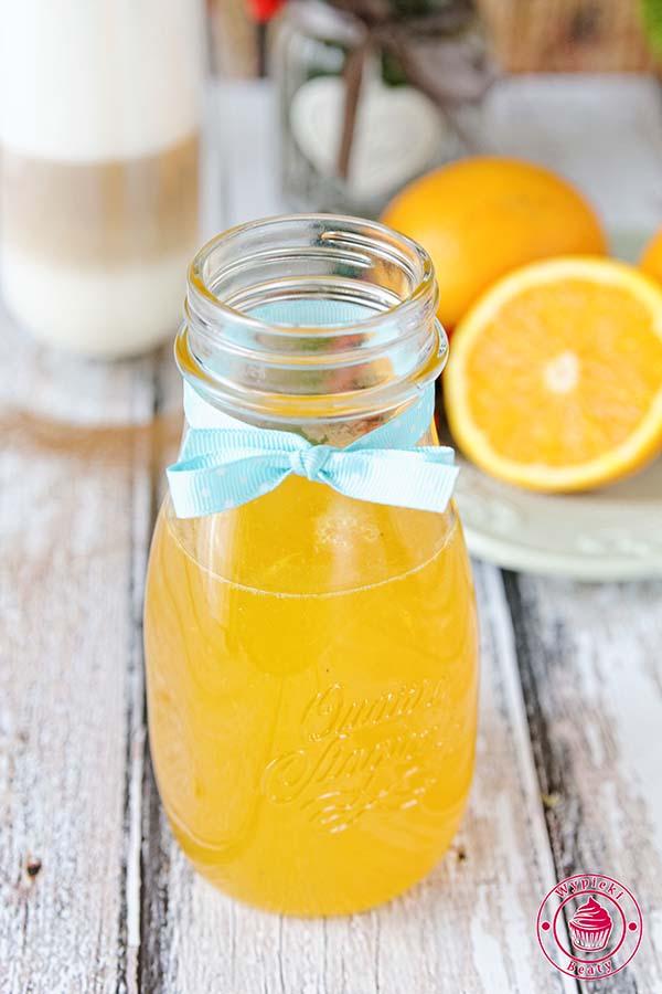 syrop z pomarańczy