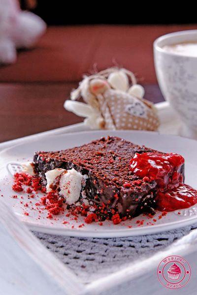ciasto czekoladowe z fasolą