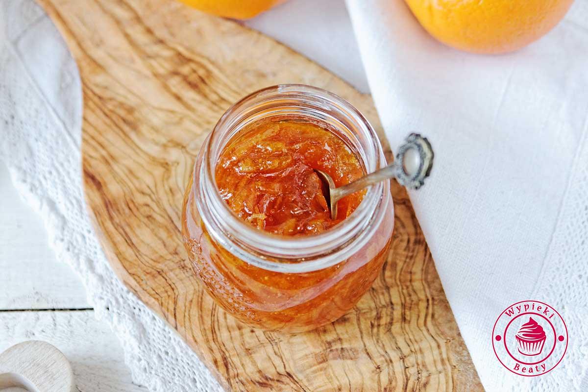 konfitury pomarańczowe