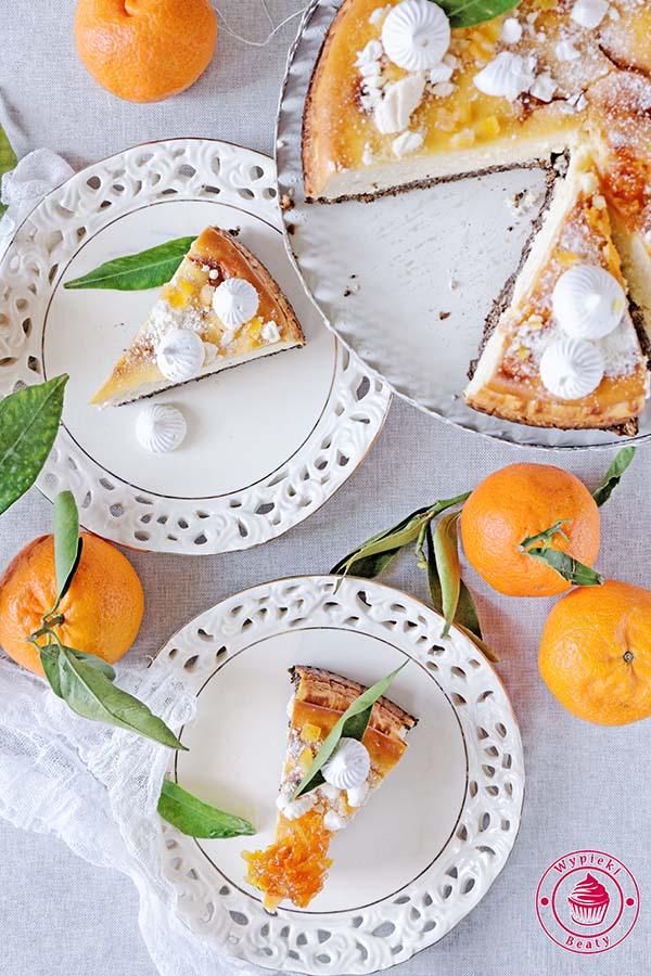 pomarańczowy sernik