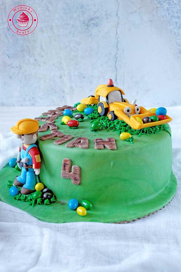 tort z bobem budowniczym