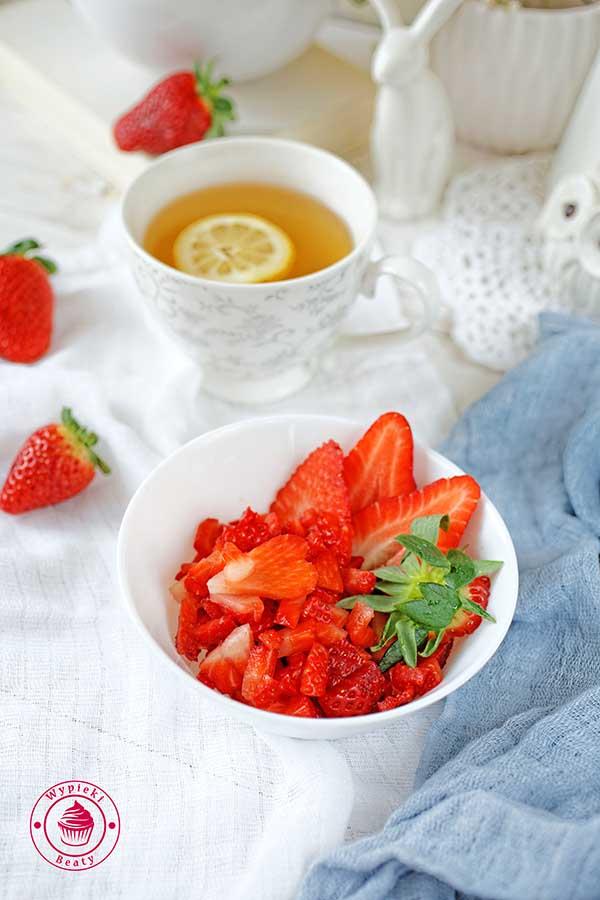 świeże truskawki