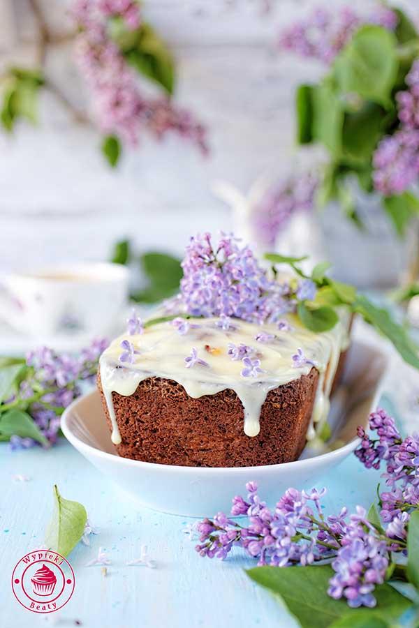 ciasto z białej czekolady