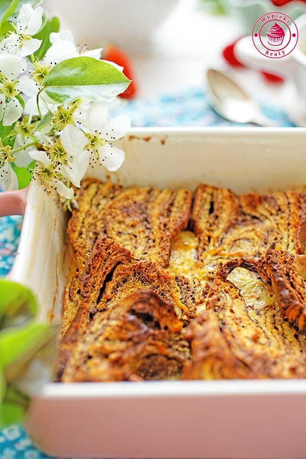 pieczone tosty francuskie