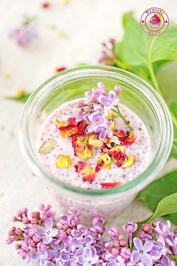 różany pudding chia