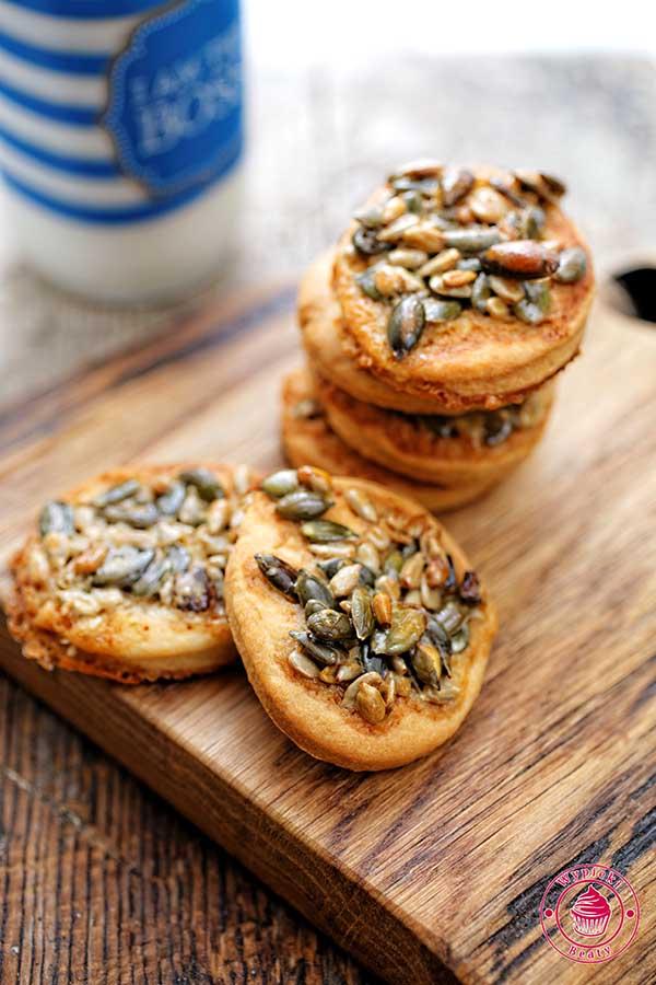 ciasteczka z ziarenkami