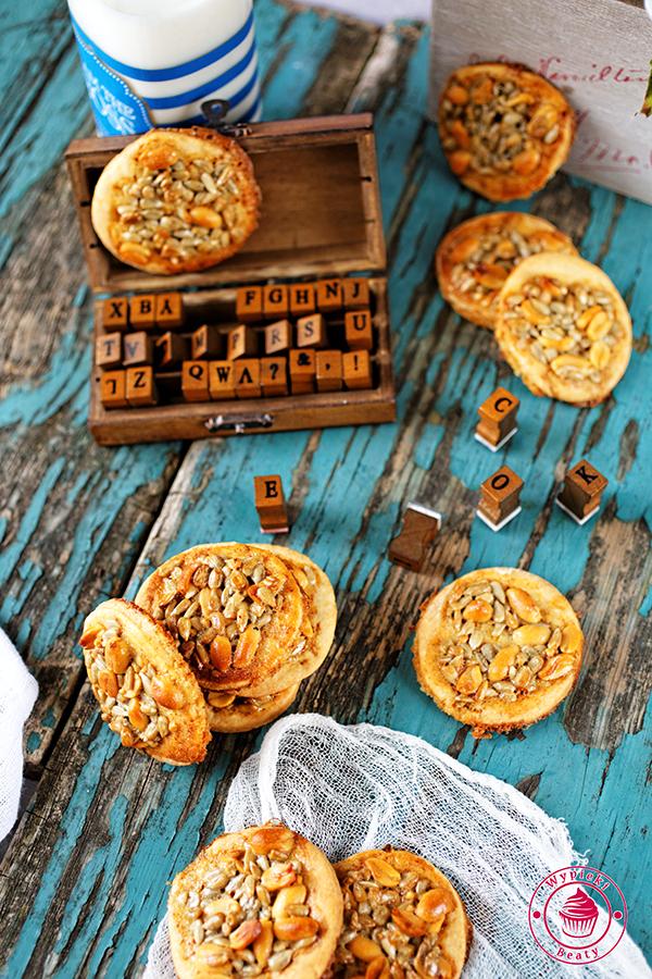 ciasteczka z ziarnami