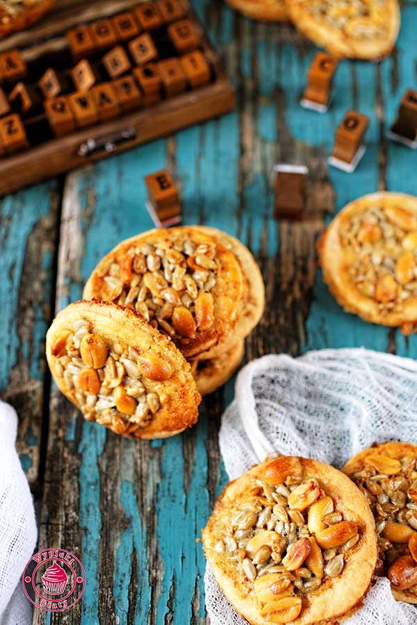 ciasteczka ze słonecznikiem