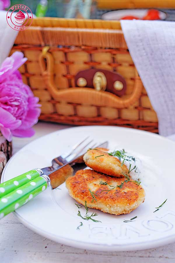 placuszki ziemniaczano-łososiowe