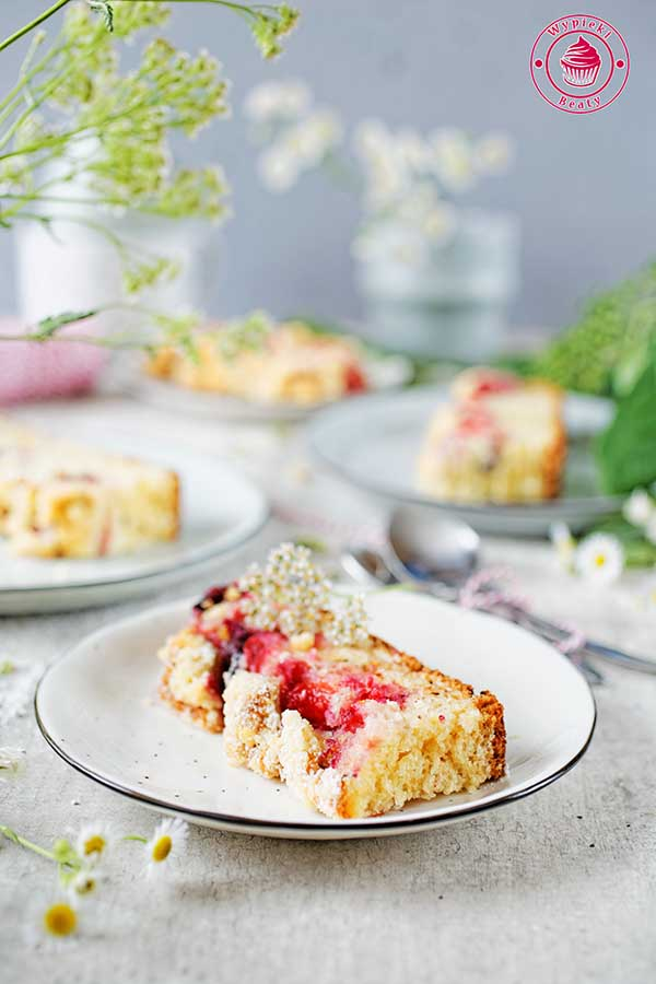 proste ciasto z owocami
