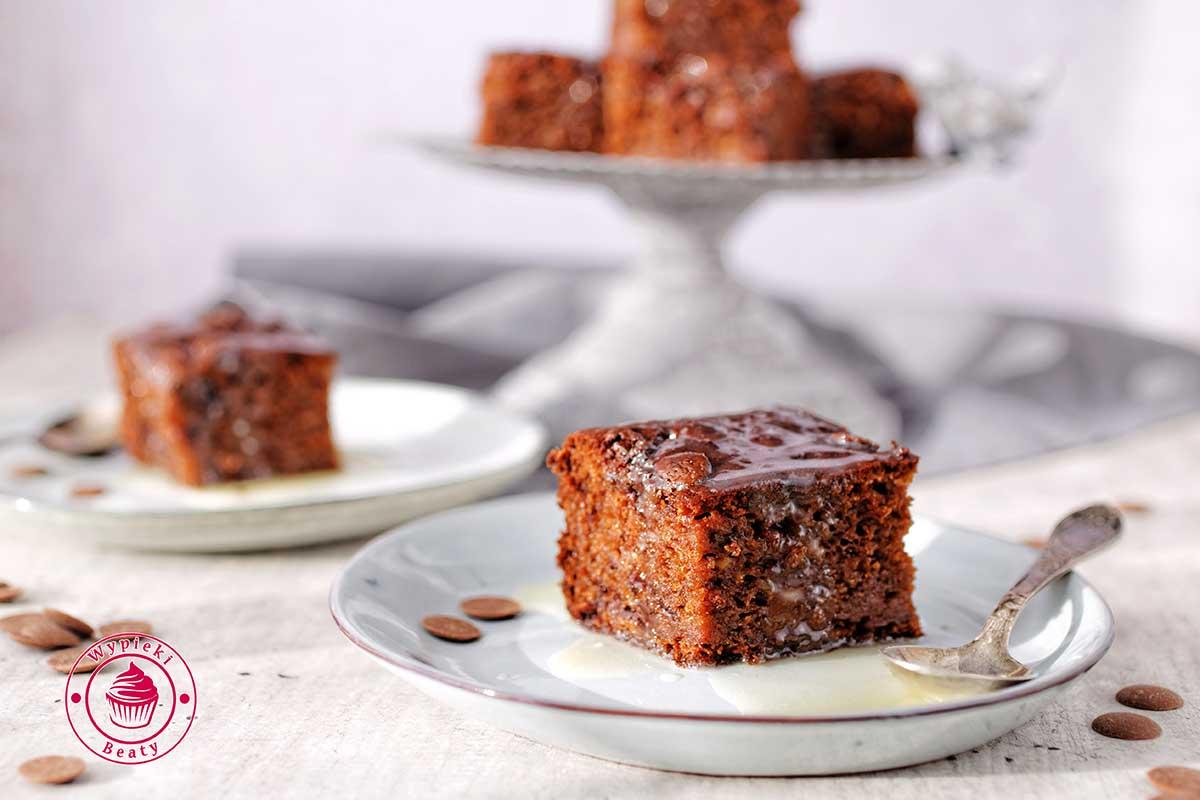 ciasto czekoladowe z bananami