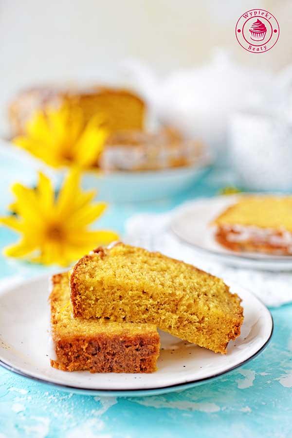 proste, szybkie i wilgotne ciasto z owocami